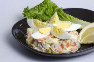 © Cdmprimorsko | Dreamstime.com - Salad Olivier Photo
