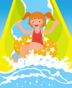 bambina-scivolo-piscina-©-Urchenkojulia-_-Dreamstime.com---Children-Girl-Playing-In-Water-Park-In-Summer-Photo
